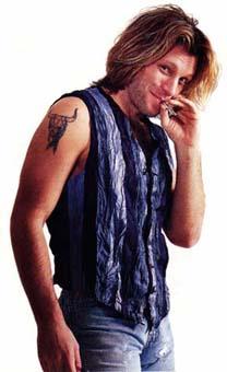 Тауировки Джон Бон Джови John Bon Jovi Jon Bon Jovi