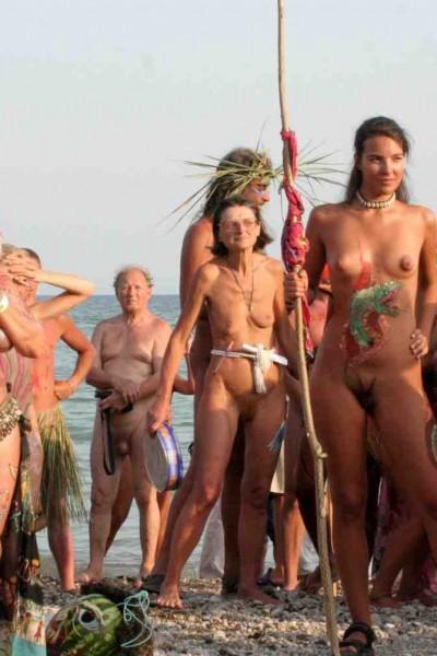 фестиваль бодиарта на пляже