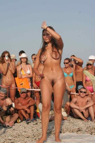 бодиарт на пляже