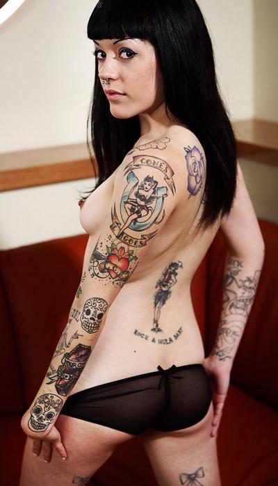 Татуировки и пирсинг фото 8