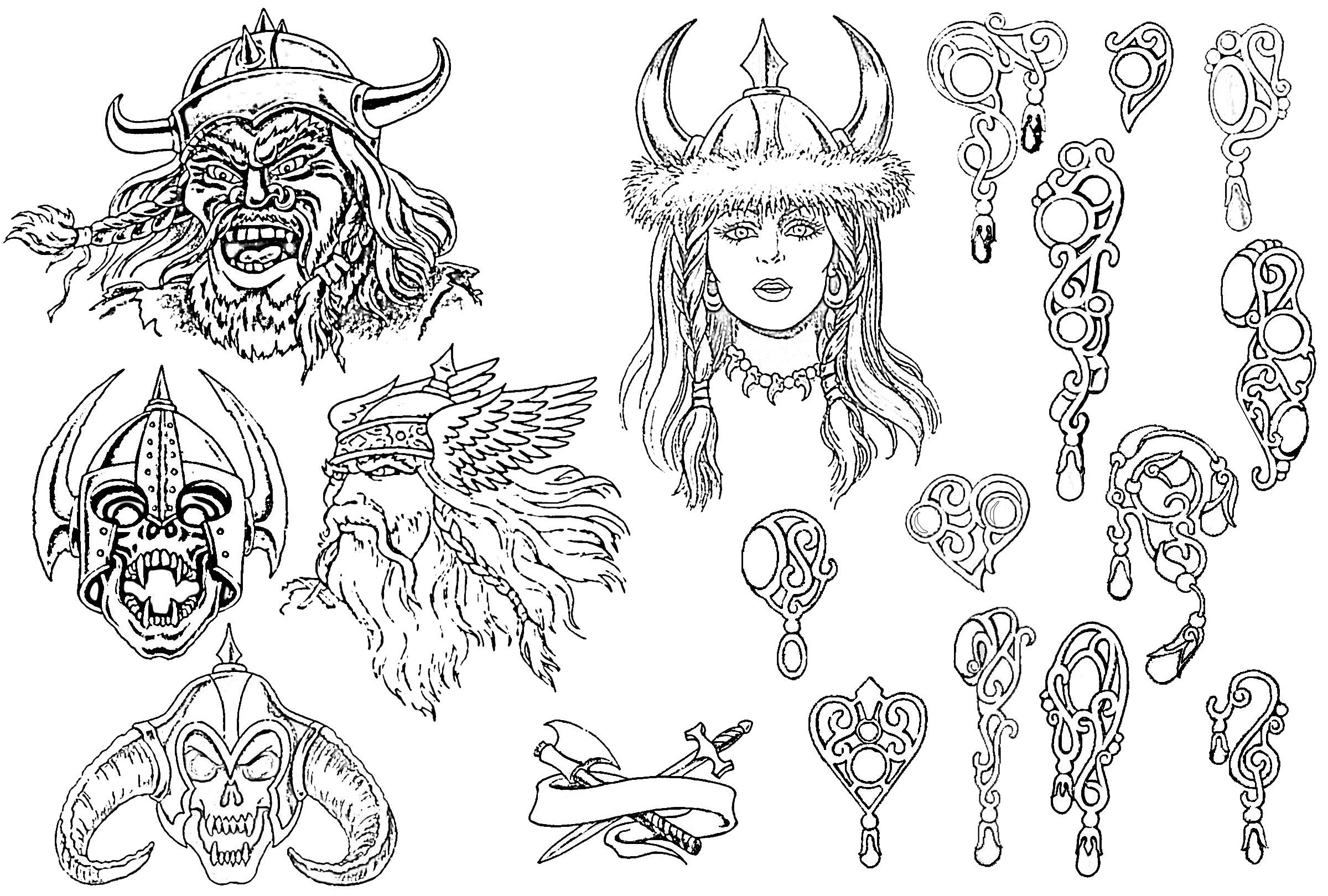 Славянские татуировки и их значение. Татуировки в славянском 8