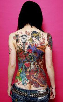 Связь татуировок с личностью