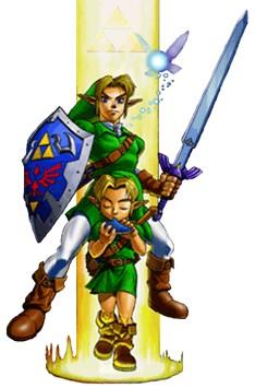 Эскиз для татуировки по мотивам компьютерной игры The Hyrule Fantasy The Legend of Zelda