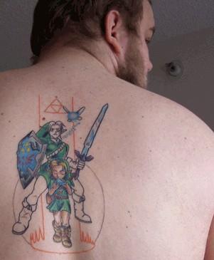 Пошаговое исполнение татуировки с иллюстрациями