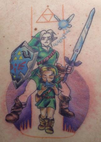 Круг на татуировке